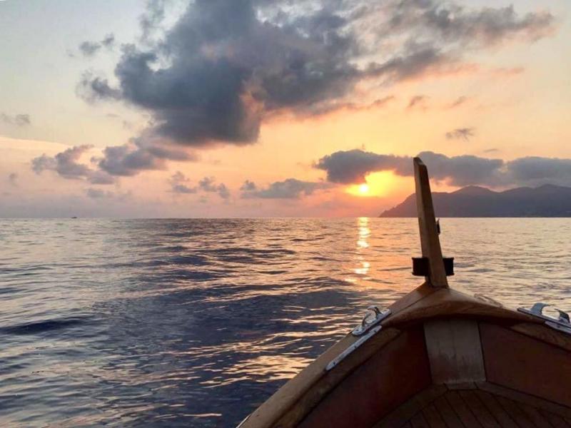 tramonto zenit
