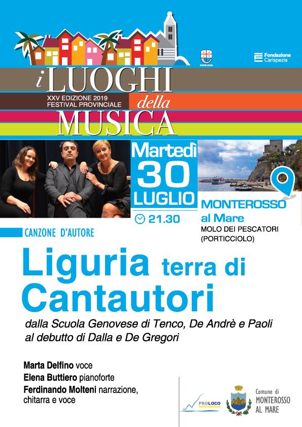 03 30 luglio Monterosso Liguria terra di cantautori